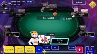 酒飲みながらギャンブルしてるときが一番たのしい 【ポーカーチェイス】