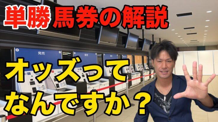 【競馬入門②-1】単勝の買い方、オッズ仕組みを解説